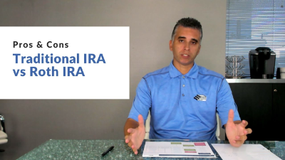 Traditional IRA vs Roth IRA (Pros & Cons)